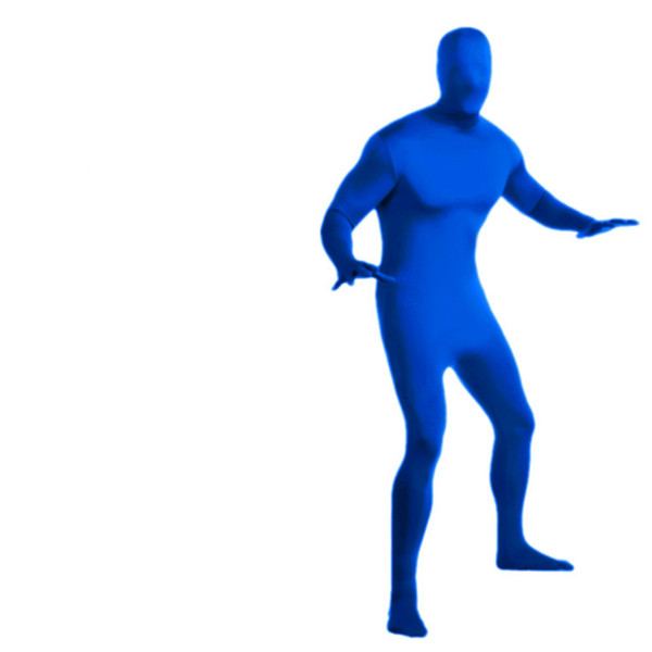 Hot Sale Mens Lycra Full Body Zentai Suit Cosplay Stage Wear Custom Second Skin Tight Suits Spandex Nylon Bodysuit Halloween Costume for Men