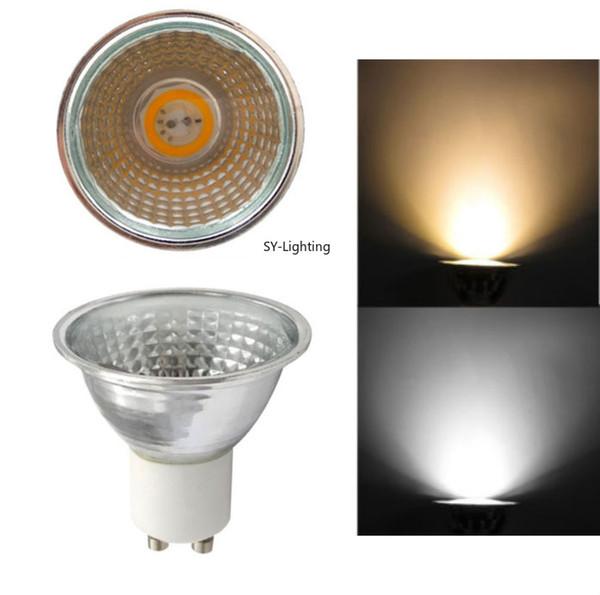 Paket von 10, GU10 PFEILER 2020 5W LED Lampe MR16 Lampen Scheinwerfer Dimmbares helles weißes warmes 110V / 220V Beleuchtung