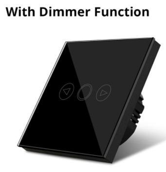 Nero / Con dimmer