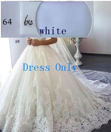 (Weiß) Nur Kleid