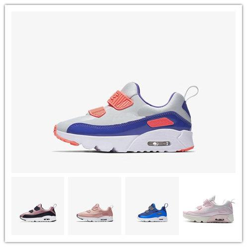 2019 new kids designer shoes baby 90 II shoe Sports Orthopedic Youth Kids trainers Infant Girls Boys running shoes 15 Colors Size 22-35