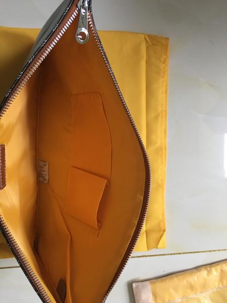 2019 Nueva moda cartera larga Diseñador Hombres Mujeres Estilo de París GOYA Monederos con monedero largos Bolsos de embrague de cuero prácticos de gran capacidad
