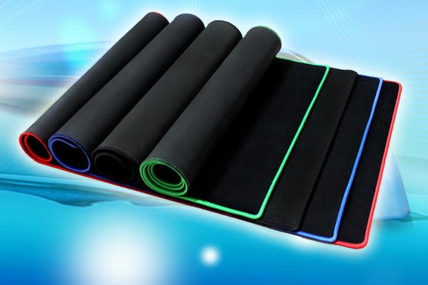 Büyük Oyun Mouse Pad Renkli Lockedge Mat Klavye Masa Mat Masa Mat Dizüstü Laptop Için