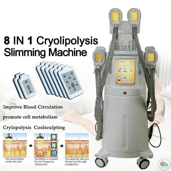 Fat congelamento rapido dimagramento RF pelle serraggio Ultrasuoni Radio Frequency cavitazione macchina fredda Fat Laser congelamento liposolvente macchina