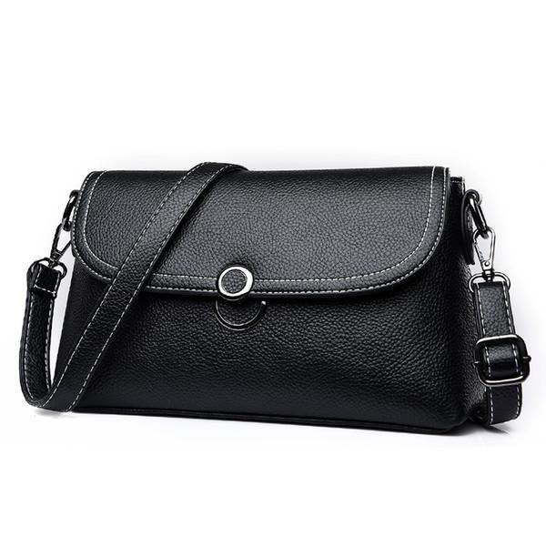 Designer Handbags Crinkled Vintage leather shoulder strap fashion Women bag chain Crossbody Bag Brand Designer Messenger Bag 062