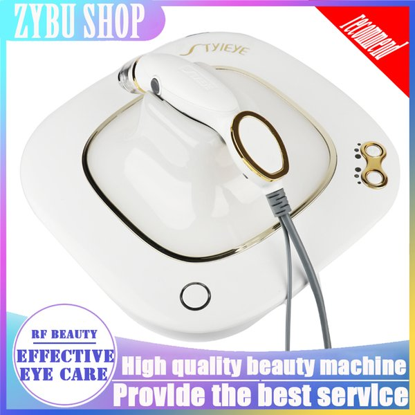 Newest Home Use RF Machine for Skin Tightening Eyes Beauty Portable Facial Device Face Lifting Vibration Dark Circle Removal Anti Aging