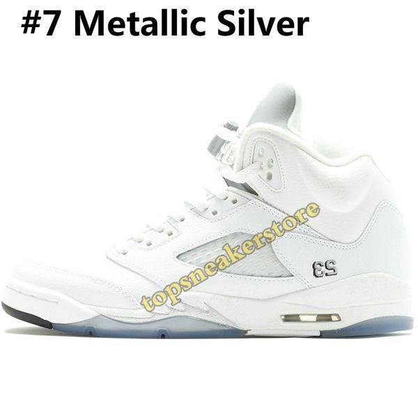 #7 Metallic Silver