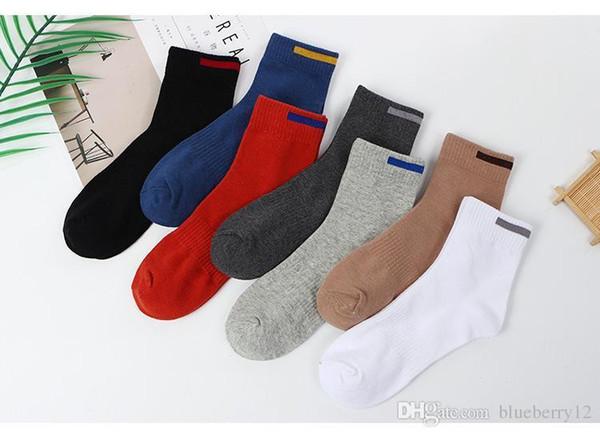 10 пар мужские дышащие хлопчатобумажные носки для весна-лето осень классические трикотажные твердые спортивные кеды 7 цветов