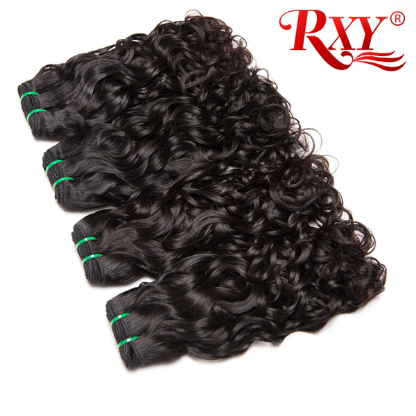 Water Wave Hair Bundles Unprocessed Peruvian Curly Virgin Hair Natural Wave 10-26 Inch Peruvian Hair Bundles Water Wave Buy 2 Save 3%