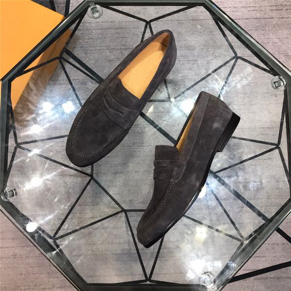 Hommes de luxe designer chaussures causales multicolore célèbre slip-on chaussures de haute qualité sooft hommes chaussures de designer taille eur38-44 B100514W