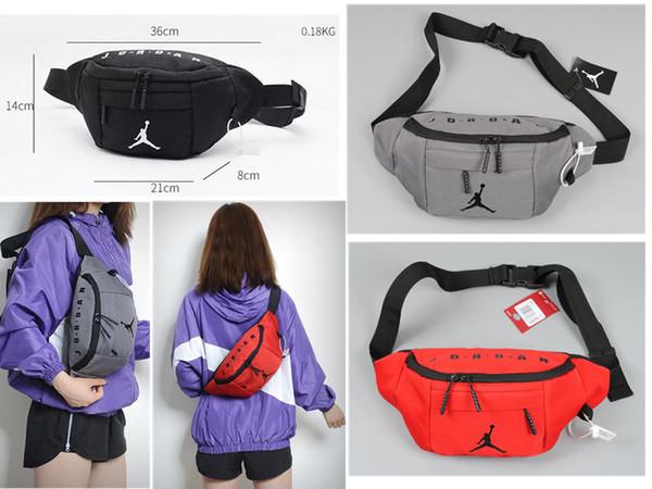 air jordam brand bolsos para hombre mujer niñas juvenil aj Sport Runner Fanny Pack Riñonera Riñonera Fitness Running Belt Jogging Pouch Back grid