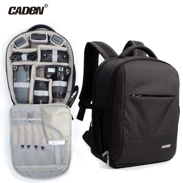 CADeN Drone Backpack für DJI Mavic Multifunktionale UAV-Drohnen-Kamera-Objektivtasche mit Regenschutz für DSLR DJI Mavic Pro