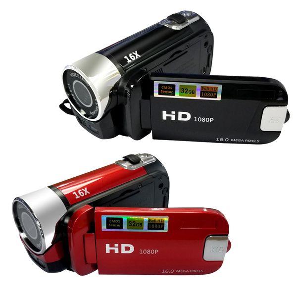16MP 2.7 Inç HD 1080 P LCD Dijital Video Kamera Kaydedici Kamera mini DV 16X Dijital Zoom Video Tüketici Kameralar