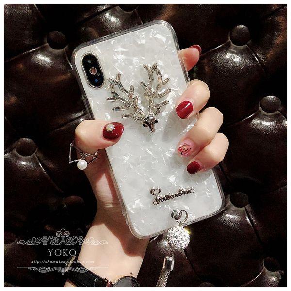 Suhuawei escudo do telefone móvel é adequado para o luxo feminino Elk escudo do telefone móvel oppo vivo