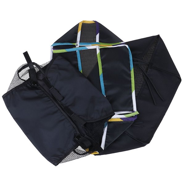 Baby Stroller Bottom Hanging Bag Cloth Basket Infant Baby Carriage Accessories Bottom Basket Portable Organizer Bag