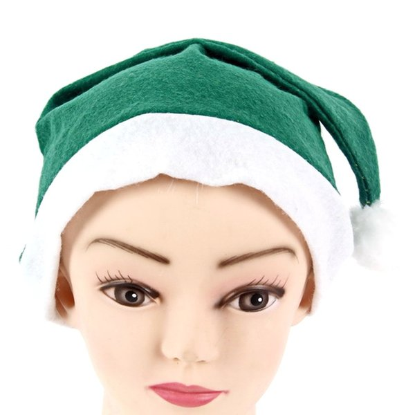 Christmas Hat Ordinary Non-Woven Adult Children'S Hat Christmas Decorations Day Party Fashion