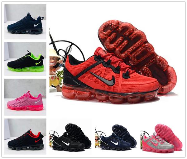 top popular 2019 baby kid KPU Knitting VM Portable Kids Running Shoes Children 2018 cushion Sports Shoes Boys Girls Training Sneakers 2020