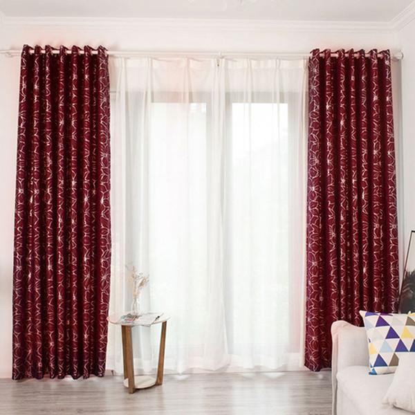 Acquista Feiqiong Floral Window Curtain Flower Pattern Pannelli Oscuranti  Balcone Drape Valance Fashion Tenda Camera Da Letto Decor A $21.94 Dal ...