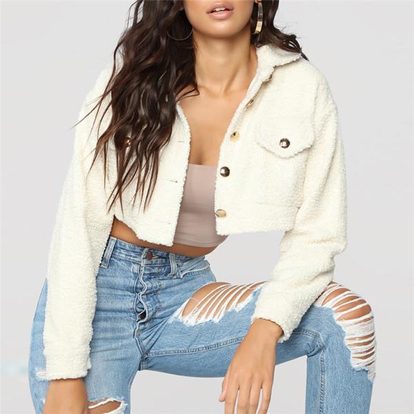 A07S016 2018 new brand designer women clothes Women's Jackets long sleeve sweater shirts Autumn wool Outerwear coats for woman