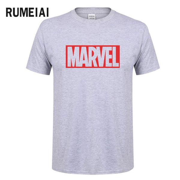 New Fashion Marvel Maglietta manica corta da uomo Supereroe stampa maglietta O-collo comico Marvel camicie top abbigliamento uomo Tee SN6