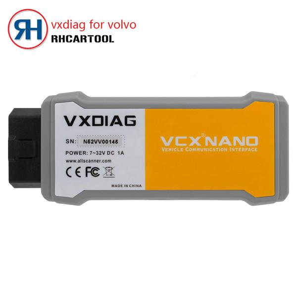 OBD2 Diagnostico Vxdiag originale per Volvo Vida Dadi 2014D Full Languages Strumento di diagnostica per auto professionale per volvo Dice Pro