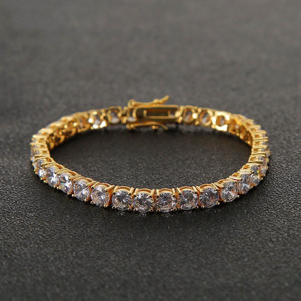3mm7inch Gold