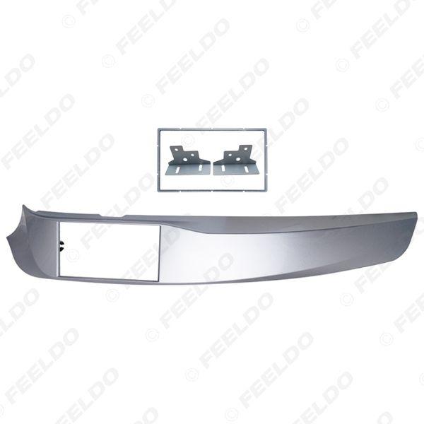 Auto-2DIN Stereo-Radio ABS Fascia Platte Plattenrahmen für Alfa Romeo Giulietta (940) linkes Rad CD / DVD-Radio-Panel Dash Mount Kit # 5249