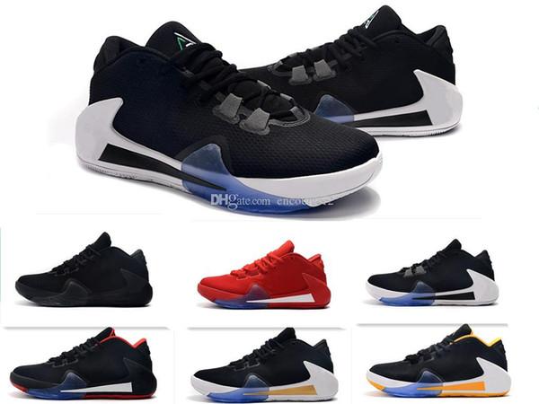 Nuevo estilo caliente ZOOM Freak 1 Giannis Antetokounmpo GA I 1S Signature hombres Zapatillas de baloncesto Zapatillas de deporte deportivas GA1 masculinas baratas Tamaño 40-46
