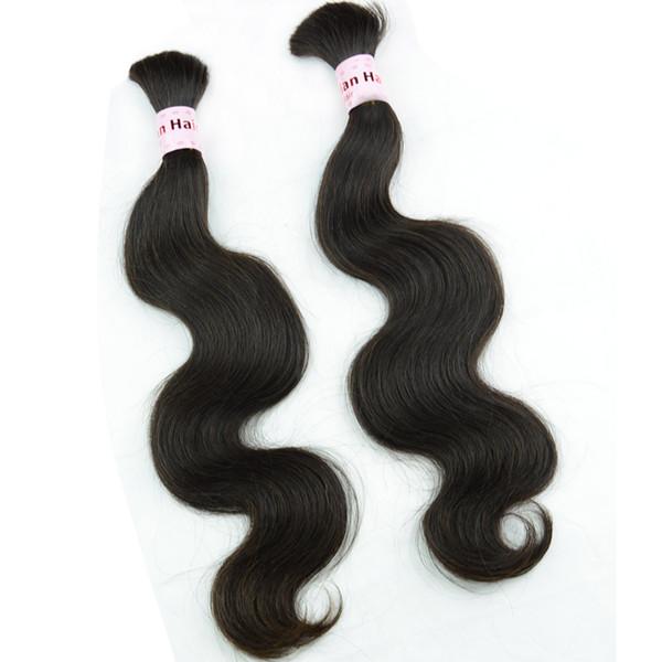 Braiding human hair bundles body wave Burmese Cambodian Mongolian Chinese hair extensions bulk unprocessed braid wavy hair products 3/4/5pcs