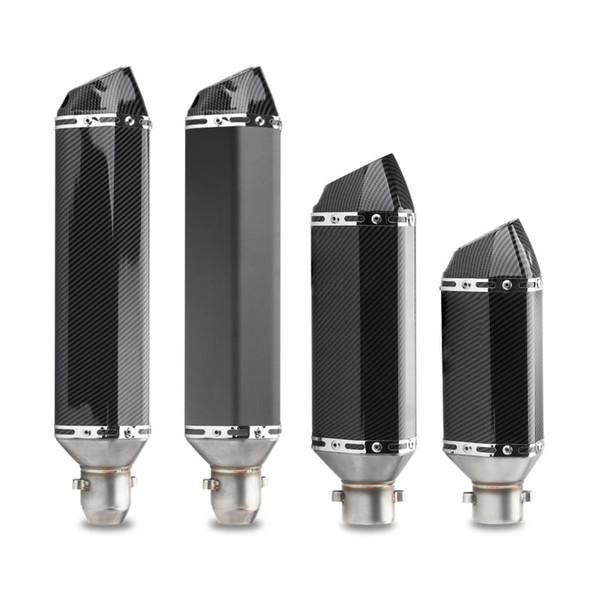 TKOSM links / rechts Universal-Auspuff Akrapovic Auspuff Carbon Look 51mm Slip On System mit DB Killer