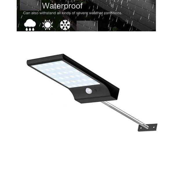 Newest 450LM 36 leds Outdoor Solar Wall Light PIR Motion Sensor Solar Lamp Waterproof Infrared Sensor Garden garage street path for yard gar