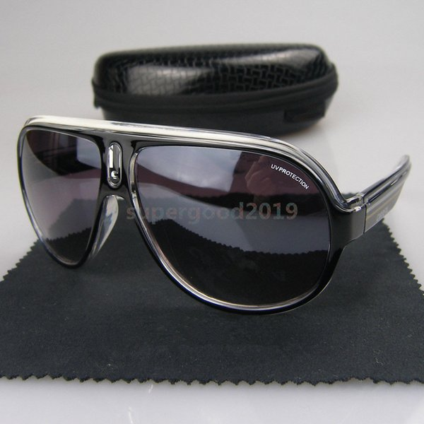Haute Qualité Marque Designer Mode Hommes Lunettes De Soleil Uv400 Protection Sport En Plein Air Vintage Femmes lunettes de Soleil Rétro Lunettes Avec La Boîte 5002