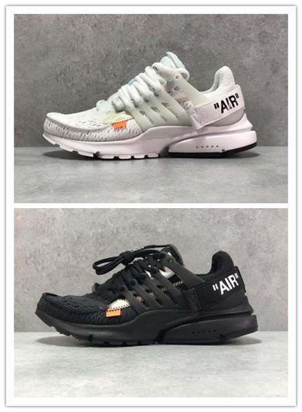 Las zapatillas de deporte Ten OW Off Air Presto, zapatillas para correr, blanco, negro y gris, 36-45, con cordones adicionales