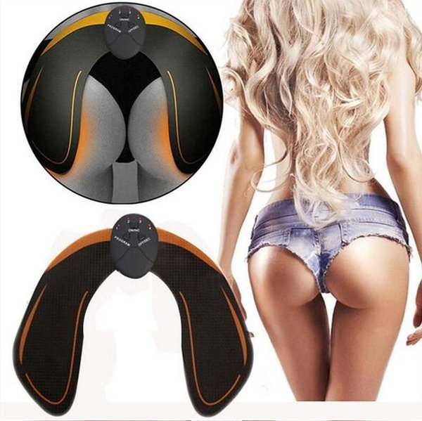 Dropshipping EMS Hip Trainer Muscle Stimulator ABS Fitness Buttocks Butt Lifting Buttock Toner Trainer Slimming Massager Unisex