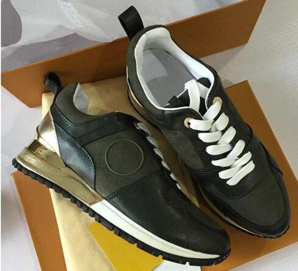 2019 НОВЫЙ Роскошный кожаный повседневная обувь Женщины Дизайнерские кроссовки мужская обувь из натуральной кожи мода Смешанный цвет оригинальной коробке