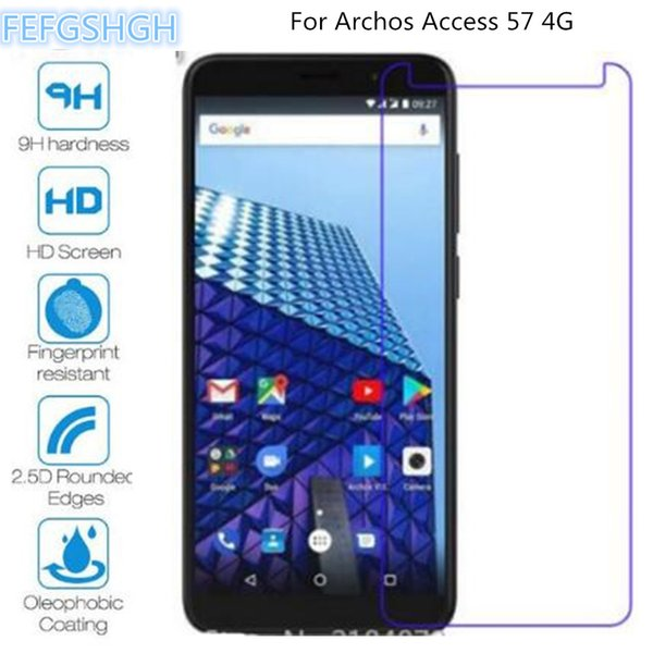 9H 2.5D Tempered Glass For Archos Access 57 4G Explosion Proof Screen Protector For Archos Access 57 4G Protective Film Glass