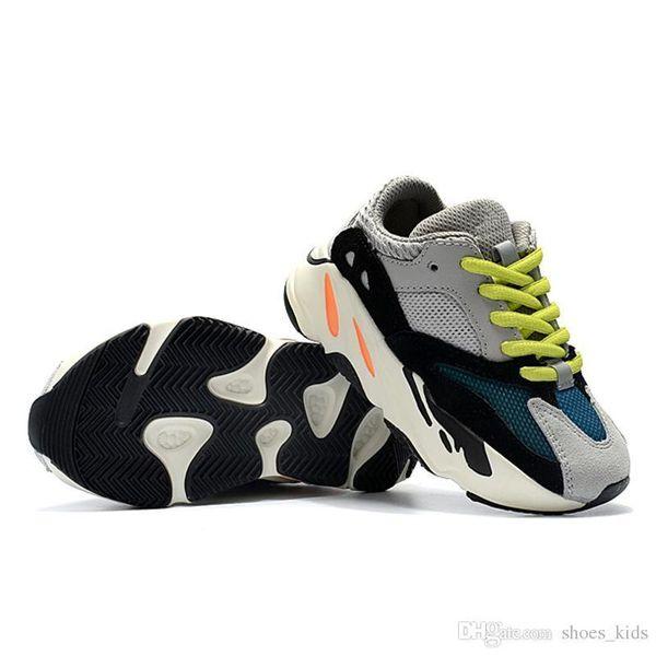 Baby Toddler Designer Shoes Kids Boy And Girls Sneakers 700 Wave Runner Chaussures Pour Enfants Zapatos de entrenamiento para niños con caja Eur 28-35