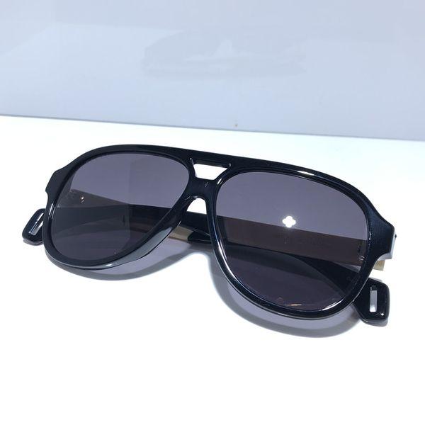 0463 Occhiali da sole firmati di lusso Per occhiali da sole avvolgenti Occhiali da sole avvolgenti Occhiali da sole full frame con rivestimento a specchio Gambe in fibra di carbonio Stile estivo.