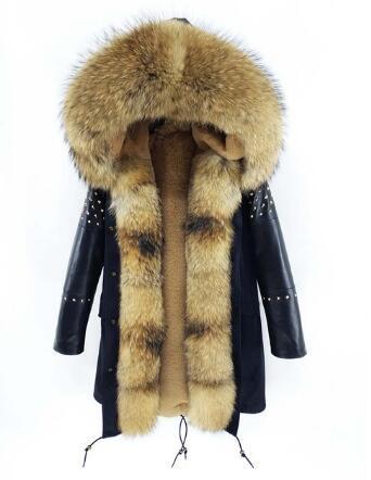 2 natural fur
