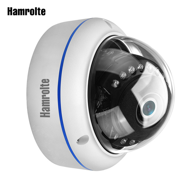 Hamrolte AHD Camera 1080P/720P High Resolution Vandal-proof Dome Waterproof Indoor/Outdoor Camera Nightvision CCTV