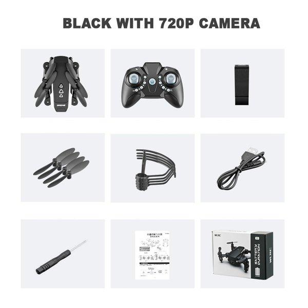 720p의 카메라 블랙