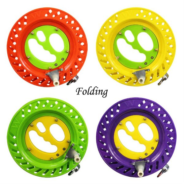 20cm/22cm Kite Reel Winder Fire Wheel String Fishing Reel Flying Handle Tool String Line Outdoor Round Grip for Fishing Accessories