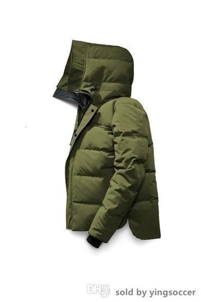 Outwear Qulity Goos design capuche Homme Manteau de duvet 86320 Thicken veste en duvet camouflage 7 couleurs Manteaux