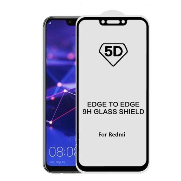 5D Full Cover Tempered Glass Screen Protector Film Für Xiaomi 9 8 SE Lite Spielen Redmi Note 7 6 Pro Mix 2 2S Max 2 3