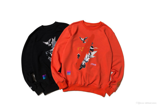 Autumn and winter best-selling men's unique long-sleeved animal prints with a strange designer created a men's clothing