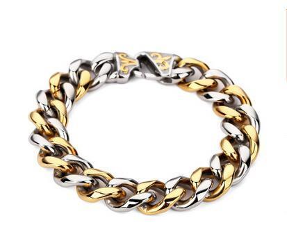 Cor do Metal: Aço e Ouro