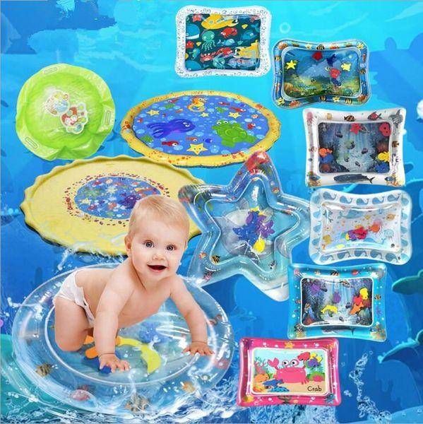 Giocattoli gonfiabili estivi giocattoli per bambini casa per bambini cuscinetto di ghiaccio gonfiabile incline patting pad famiglia cuscino fresco cuscino d'acqua gonfiabile YSY131