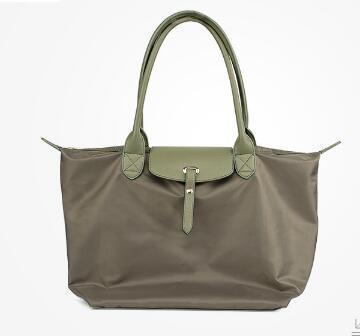 new Spring and Summer Waterproof Oxford Folding Multifunctional Commuter Bag Handbag Dumpling Bag