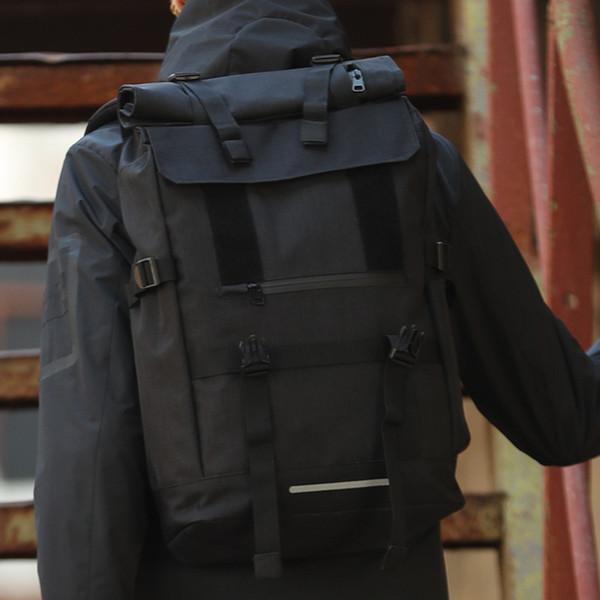 Large Capacity Men Backpack Waterproof Army Outdoor Rucksack for Hike Overnight Travel Big Handbags Laptop Organizer