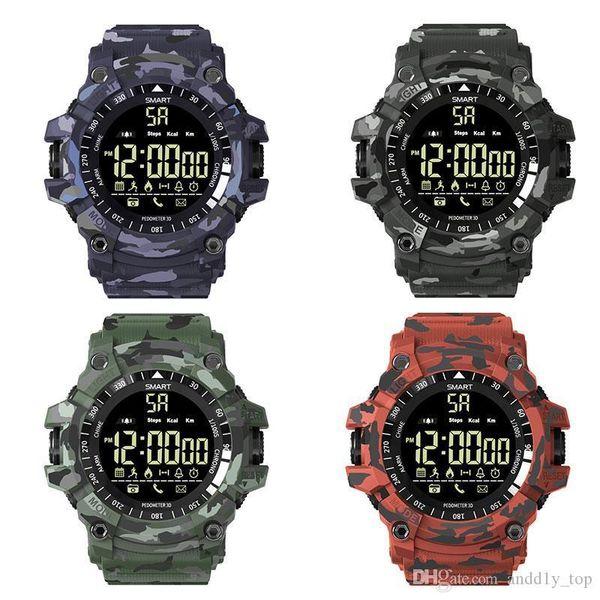 Plus Sports Smart Watch Bluetooth Ip67 Impermeable Cámara Remota Gimnasio Rastreador Tecnología Usable Reloj de pulsera para Android Ios